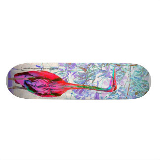 Artistic Heron Skateboard