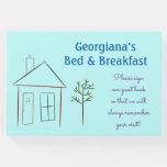 [ Thumbnail: Artistic Home & Tree Bed-And-Breakfast Guestbook ]