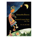 Artistic Inspirational Kokopelli Business Cards