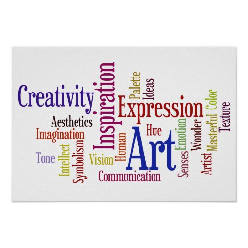 Artistic Inspirations - Art and Creativity Posters