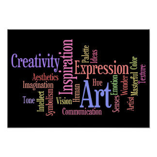 Artistic Inspirations - Art and Creativity Poster