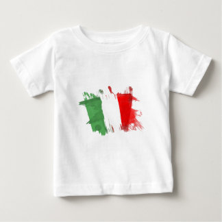 Artistic Italy Flag - Customizable design Baby T-Shirt