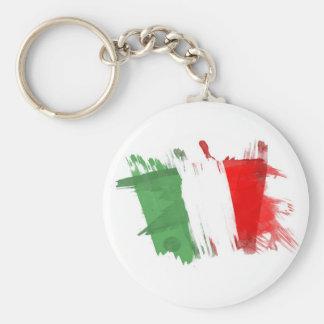 Artistic Italy Flag - Customizable design Keychain