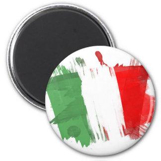 Artistic Italy Flag - Customizable design Magnet