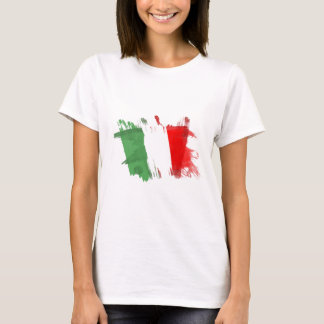 Artistic Italy Flag - Customizable design T-Shirt