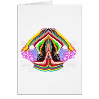 Artistic Lamps Green Nameste Card