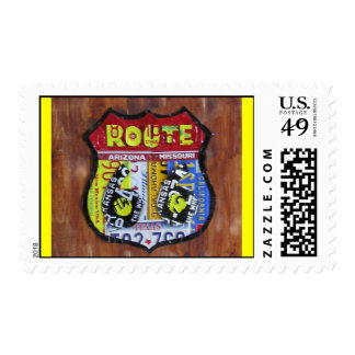 artistic license route 66 postage