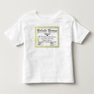 Artistic License Toddler T-shirt