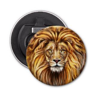 Artistic Lion Face Bottle Opener