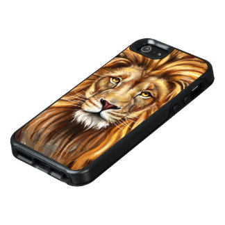 Artistic Lion Face OtterBox iPhone SE Case