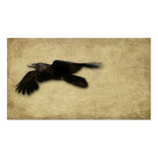 Artistic- Lone Black Crow Business Card