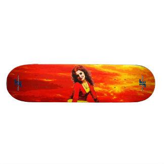 Artistic Love Skateboard