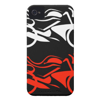 Artistic motorbike graphic Case-Mate iPhone 4 case