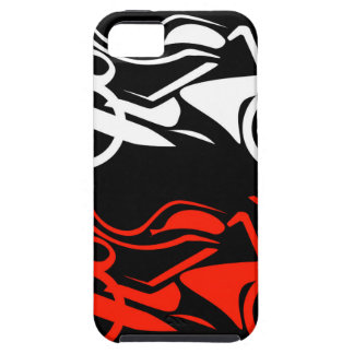 Artistic motorbike graphic iPhone SE/5/5s case