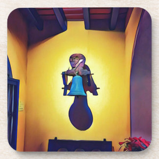 Artistic Mounted Bell Naive Of Church Drink Coaster