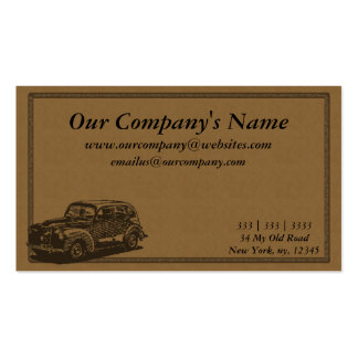 Artistic, Natural, Earth Toned Business Card