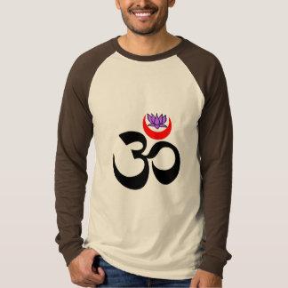 Artistic Om - Long-Sleeved Yoga Shirt