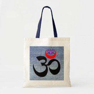 Artistic Om - Yoga Tote Bags