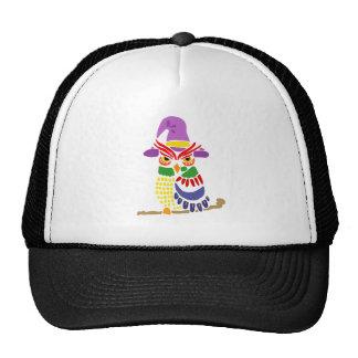 Artistic Owl Wizard Trucker Hat