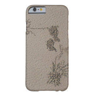 Artistic patterns made by Ghost Crabs  on Four Barely There iPhone 6 Case