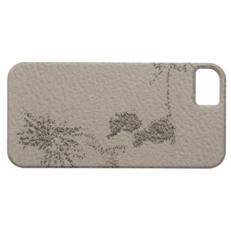 Artistic patterns made by Ghost Crabs  on Four iPhone SE/5/5s Case