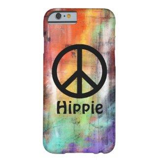 Artistic Peace Custom Name iPhone 6 Case