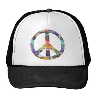 Artistic Peace Sign Trucker Hat