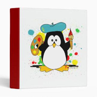 Artistic Penguin Vinyl Binders