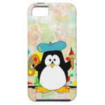 Artistic Penguin iPhone 5 Covers