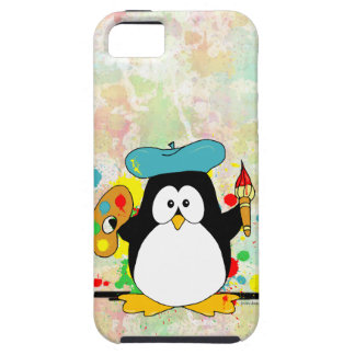 Artistic Penguin iPhone SE/5/5s Case