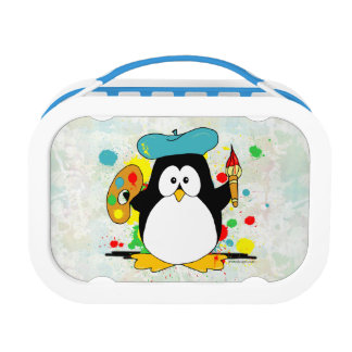 Artistic Penguin Yubo Lunchbox