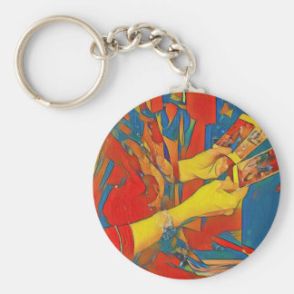Artistic Physic Tarot Reading Keychain