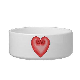 Artistic Pink Heart / Love Bowl