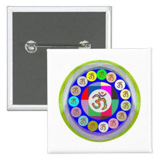 Artistic Presentation Matters - Dr Mantra Navin Pinback Button