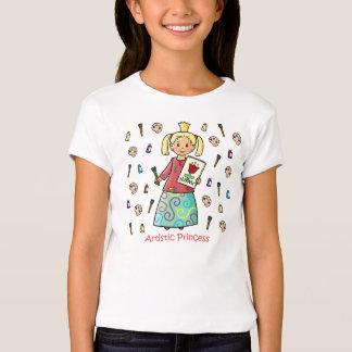 Artistic Princess T-Shirt