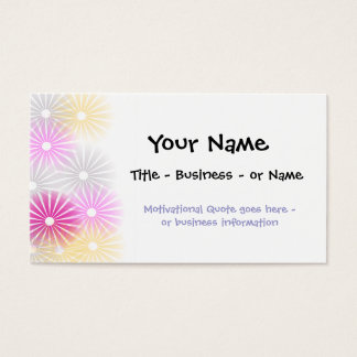 Artistic Profile or Business Card Template