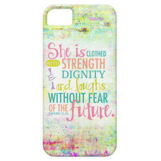 Artistic Proverbs 31 25 iPhone 5/5S Case