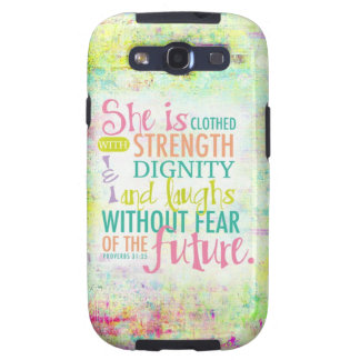 Artistic Proverbs 31 25 Samsung Galaxy SIII Covers