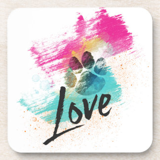 Artistic Puppy Love Coaster