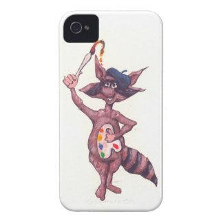Artistic Raccoon iPhone 4 Case