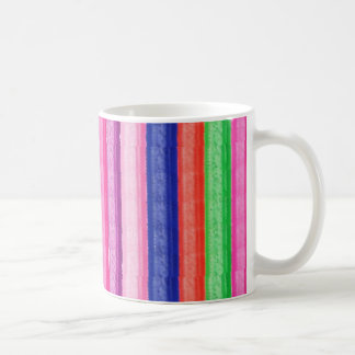 ARTISTIC Rainbow Stripe Coffee Mug