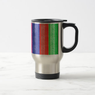 ARTISTIC Rainbow Stripe Travel Mug