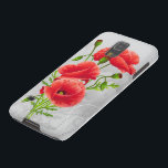 "Artistic Red Poppies Samsung Galaxy S5 Case<br><div class=""desc"">Artistic Red Poppies</div>"