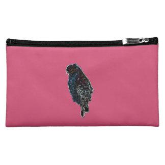 Artistic Red-Shouldered Hawk Makeup Bag