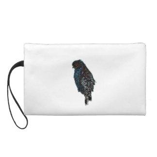 Artistic Red-Shouldered Hawk Wristlet Purse