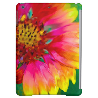 Artistic rendition of Indian Blanket flower iPad Air Case