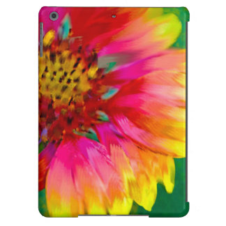 Artistic rendition of Indian Blanket flower iPad Air Cover