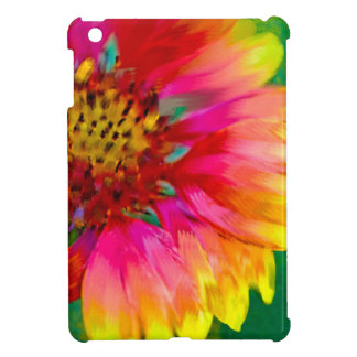 Artistic rendition of Indian Blanket flower iPad Mini Case