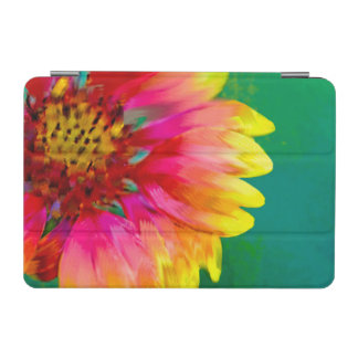 Artistic rendition of Indian Blanket flower iPad Mini Cover