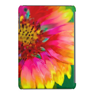 Artistic rendition of Indian Blanket flower iPad Mini Retina Case